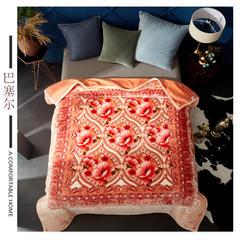 (总)素堇 毛毯-双层云毯 200cmx230cm 巴塞尔
