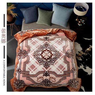 素堇 毛毯-双层云毯 蕾奥娜