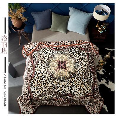 素堇 毛毯-双层云毯  洛丽塔