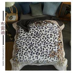 (总)素堇 毛毯-双层云毯 200cmx230cm 布雷迪