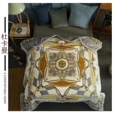 素堇 毛毯-双层云毯 杜卡曼