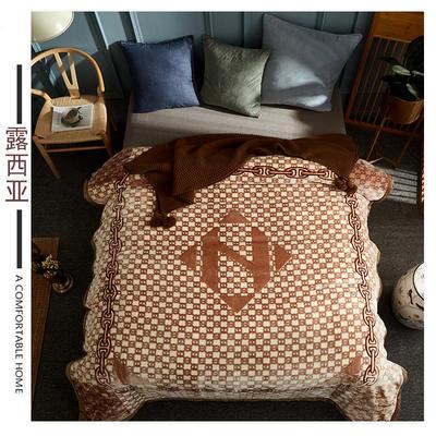 素堇 毛毯-双层云毯 露西亚