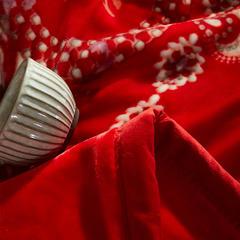 (总)素堇 毛毯-双层云毯 200cmx230cm 曼达娜