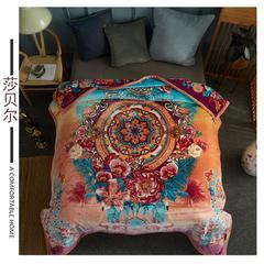素堇 毛毯-双层云毯 布雷迪