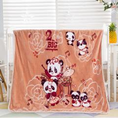 2018新款-儿童云毯 1.0m(3.3英尺)床 音乐熊猫