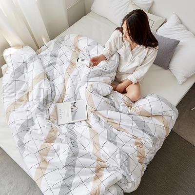 孚缦被业-2018新款13372全棉纤维 春秋被 冬被-欧式系列 200X230cm 5斤 春秋被 维也纳