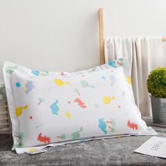 2018新款儿童枕水洗 34*50cm/个 白色小恐龙