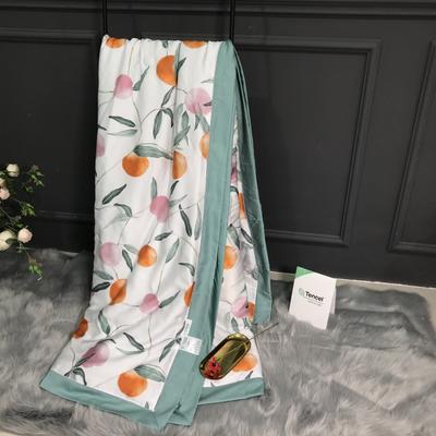 2019新款60s兰精天丝专版印花系列夏被-薇时代、香风颂 200X230cm(附赠拎袋) 盛夏