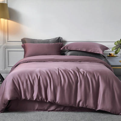 2020新款60S素色天丝套件 M 薇紫
