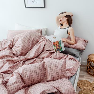 布蕾肯家纺2019新品全棉INS四件套网红套件 床单款 床笠款 1.2m(4英尺)床单款 思绪