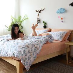 2018新款-棉加绒四件套 1.5m(5英尺)床 春色满园