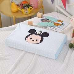 2018新款-迪士尼儿童乳胶枕 米奇头像27cmX44cm(含浴巾)