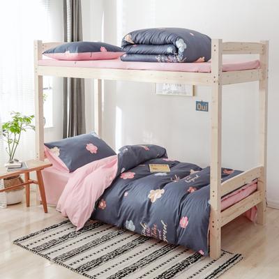 2020新款-小清新單人三件套 床單款1.2m(4英尺)床 薄荷