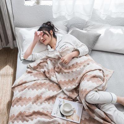 2019新款-天竺棉夏被 150x200cm 菱歌(棕)