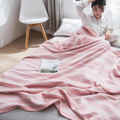 2019新款-天竺棉夏被 150x200cm 闲趣(粉)