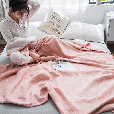 2019新款-天竺棉夏被 150x200cm 星语(粉)