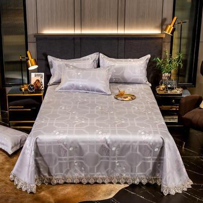2020花边床单款600D提花冰丝凉席 1.2m(4英尺)床 花染馨香