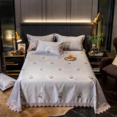 2020花边床单款600D提花冰丝凉席 1.2m(4英尺)床 爵士风范