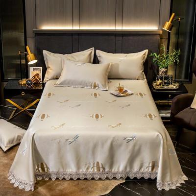 2020花边床单款600D提花冰丝凉席 1.2m(4英尺)床 漂流人生