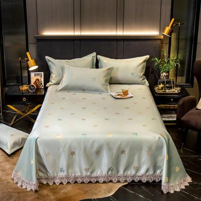 2020花边床单款600D提花冰丝凉席 1.2m(4英尺)床 清风徐来