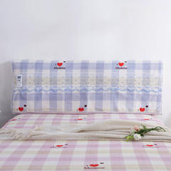 韩版蕾丝床头罩(单品) 品心-紫1.2m