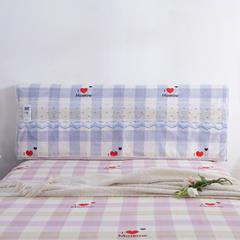 韩版蕾丝床头罩(单品) 品心-紫1.8m