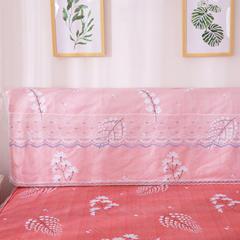 韩版蕾丝床头罩(单品) 叶语浪漫-红1.5m