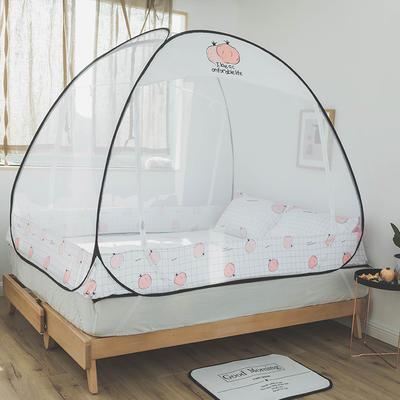 2019新款-免安装蚊帐(免安装工艺款风格3) 1.2*2.0*140 G18