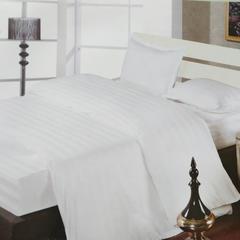 漂白3公分缎条宾馆套件被芯面料 窄幅/160cm 1