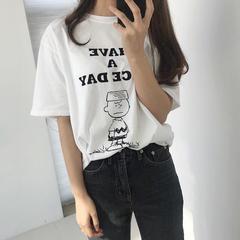 2018新款史努比查理T恤可做家居服 均码 史努比