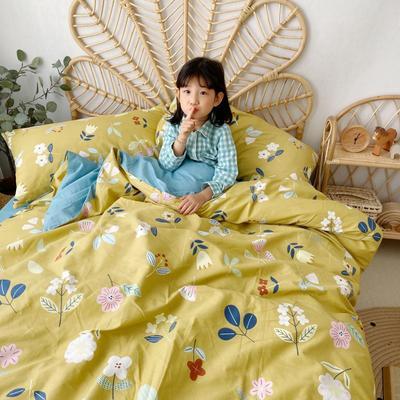 2020新款-13372全棉四件套 床单款四件套1.5m(5英尺)床 春意黯然