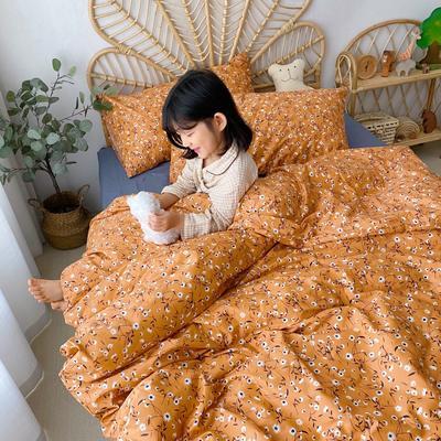 2020新款-13372全棉四件套 床单款四件套1.5m(5英尺)床 秋意浓