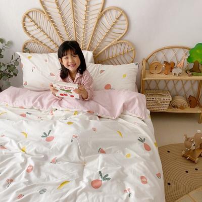 2020新款-13372全棉四件套 床单款四件套1.5m(5英尺)床 水果派