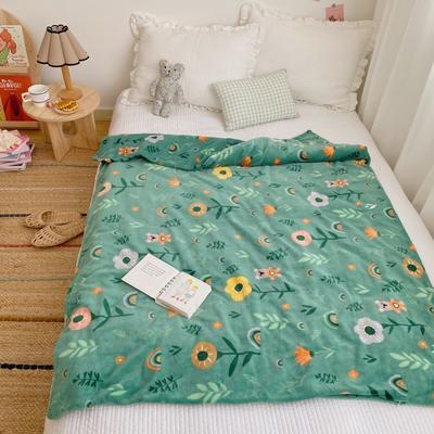 2020新款双层宝宝绒盖毯被 150x200cm 森林