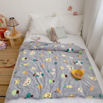 2020新款双层宝宝绒盖毯被 150x200cm 水果派