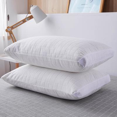 2020年春夏新款立体防水枕套(防口水,防头油,防枕芯霉变) 48*74cm/只 本白