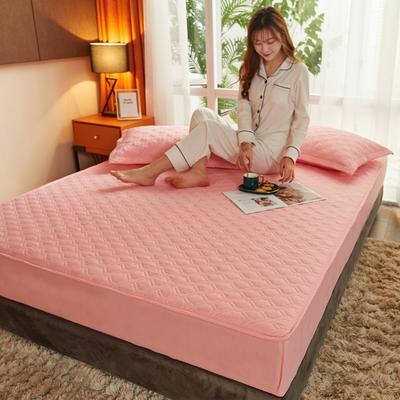 (总)丽芙2021新款工艺款夹棉床笠—浅色背景 150cmx200cm 烟雨玉