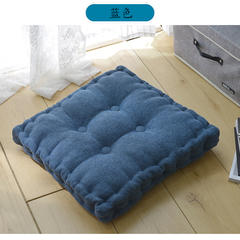 2018雪尼儿手工垫方垫 40X40cm 蓝色