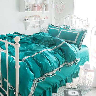 全棉四件套布利斯 1.5m(5英尺)床 布里斯草綠