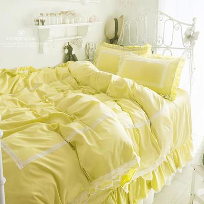 全棉四件套布利斯 1.5m(5英尺)床 布里斯熒光綠