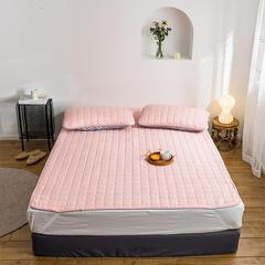 2019新款艾絨理療床墊-床單款 150*200 粉色床墊