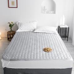 2019新款艾绒理疗床垫-床单款 150*200 灰色床垫