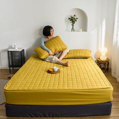 2019新款艾絨理療床墊-床笠款 1.5m 黃色床笠