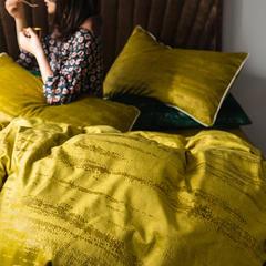 2019新款意大利燙金絨四件套 1.5m(5英尺)床單款 絨-燙金