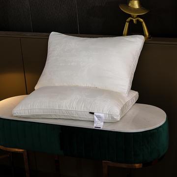 2020新款60s木本提花大豆纤维枕枕头枕芯48*74cm/只