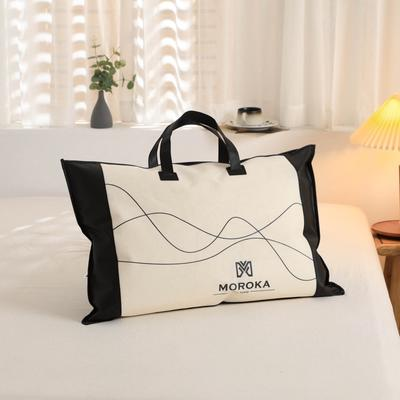 2020新款60s木本提花大豆纤维枕枕头枕芯48*74cm/只 包装