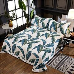 2018新款60埃及长绒棉印花绗缝床盖式三件套 单被套标准   2.0m X 2.3m 夏威夷之恋
