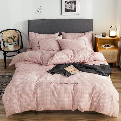 奥汀洛 2019 磨毛刺绣四件套加厚 1.2m(4英尺)床 莫林卡