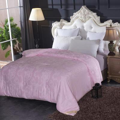 新款莫代尔蚕丝被   冬被被子被芯 150*200 4斤 粉色
