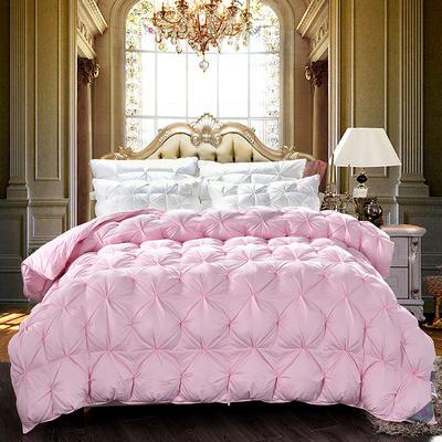 柔赛丝纽花被  冬被被子被芯 180*220 6斤 粉色